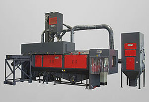Picture of Continuous feed tumble belt blast machine RMBD