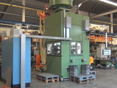 Picture of NOBAG Combined heading, indenting and tapering press KBEP 100-150 II V