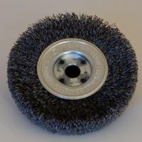 Bild på BEGNER Spånborste metall, runt centrumhål