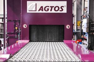 Bild för kategori AGTOS Wire mesh conveyor shot blast machine