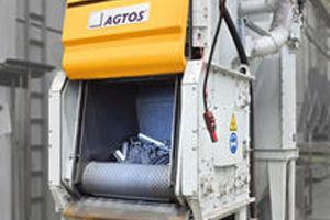 Bild för kategori AGTOS Rubber belt tumble blast machine