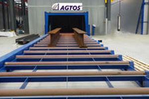 Bild för kategori AGTOS Roller conveyor blast machine